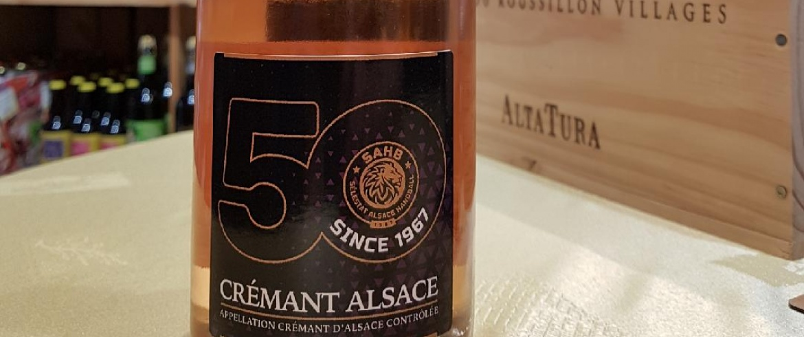 Un Crémant rosé collector