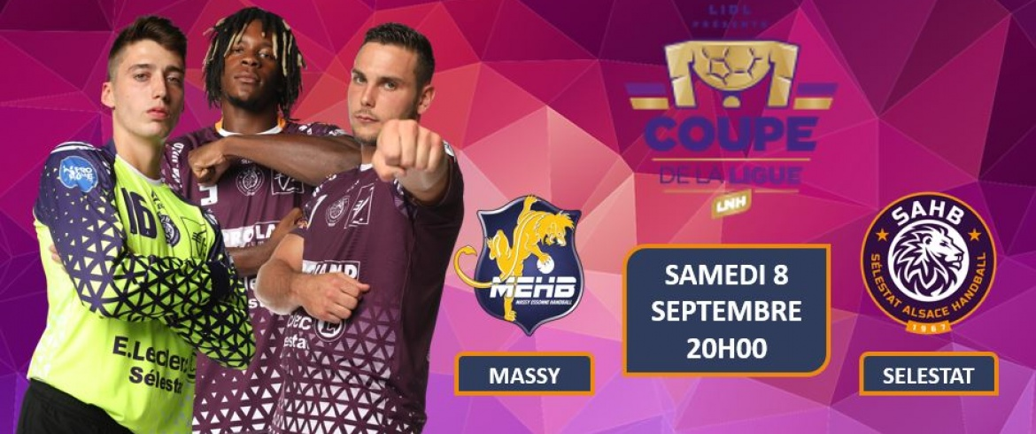 1er tour de Coupe de la Ligue : MASSY - SELESTAT