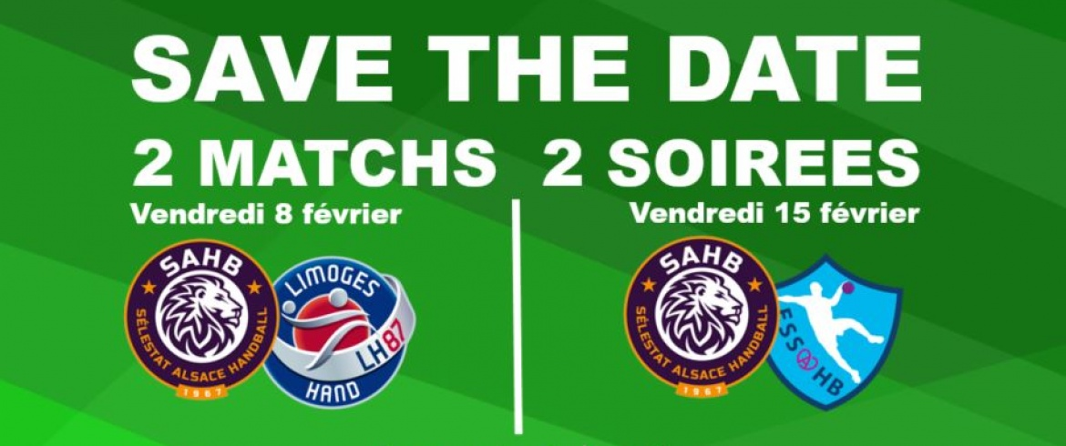 2 MATCHS / 2 SOIREES