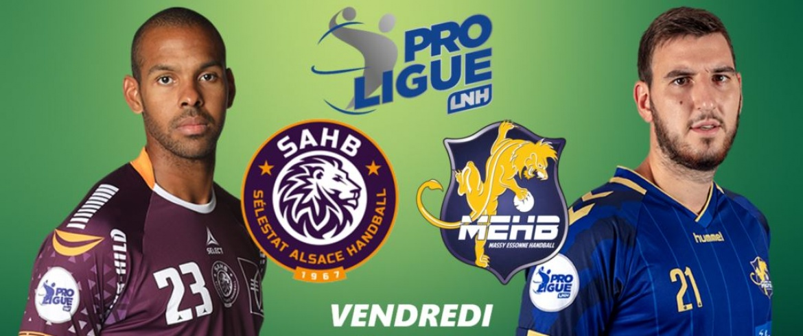 Vendredi 1 mars : SELESTAT vs MASSY