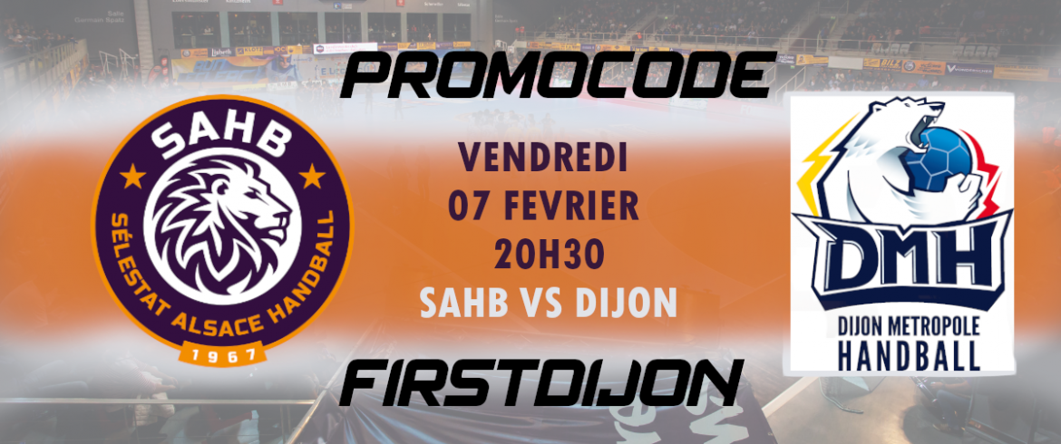 SAHB-DIJON: First Minute